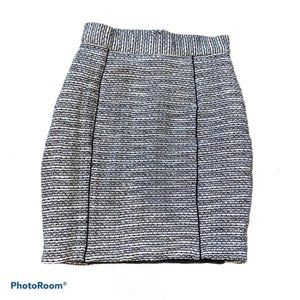 H&M Womens Tweed Pencil Skirt Size 6